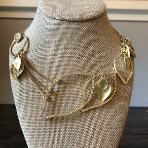 Chloe + Isabel Gold Leaf Necklace